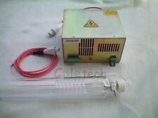 40W CO2  Laser tube 70cm +  Power Supply 40W 110V Engraver Cutter