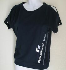 LIMITED EDITION~Puma BMW WILLIAMS F1 TEAM Blouse Shirt Top nascar~Women size Med