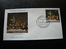 MADAGASCAR - enveloppe 18/8/70 - fruits de madagascar - yt n° 476 - (cy7)(Z