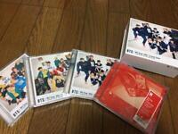 Bangtan Boys MIC Drop DNA Crystal Snow A B C Normal ver. 4 CD DVD Set with case