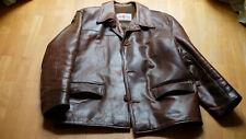 Aero Leather Jacket, Veste Des Rallye, Horsehide Braun, Size 42R DT GR52 (L)