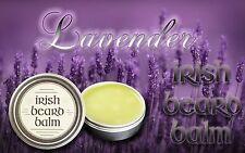 Irish beard balm Lavender 100% all natural leave in beard conditioner.