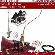 C4 Shifter Kit 23 Swan E Brake Cable Clamp Trim Kit For DDC7F