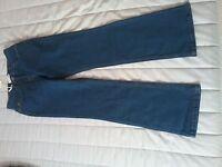 john baner women stone blue bootcut jeans size12