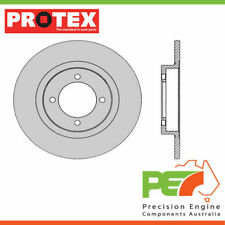 2x New *PROTEX* Disk Brake Rotors - Front For NISSAN SUNNY B310 4D Wgn RWD.