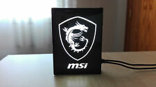 Logo iluminado para pc MSI DRAGON led, GTX 1070, 1060, 970, 960, 1080, RX AMD
