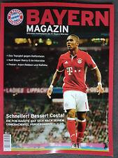 Bayern Magazin FCB - TSG Hoffenheim. Saison 2016 / 2017, neu.