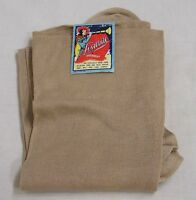 Vintage Pair Womens Unused Lusterite Hosiery 1940s Tan