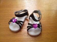 Chaussure noir vio pour poupée Les chéries corolle Paola reina Marie Francoise