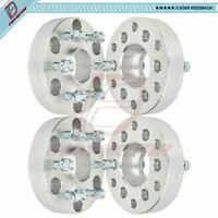 6x5.5 to 6x120 1.5 inch Fits GMC Canyon Chevy Colorado (4) Wheel Spacers 14x1.5
