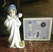 "Vintage Spanish Porcelain Lladro # 6800 ""Bundled Bather"", with box."