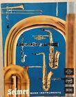 1958 Selmer Band Instruments~Vintage Catalogue~Illustrations w/ Descriptive Text