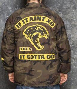 The Weeknd XO Very Rare Camo Jacket. Exclusive The Weeknd Camouflage Windbreaker