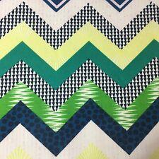 110cm x 50cm  Multicolour Zigzag Chevron Cotton Upholstery Fabric Hobby Lobby
