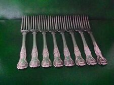 Georgian Antique Solid Silver Forks