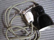 alte Bakelit Lampe Nähmaschinenlampe,