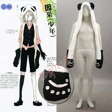 Cafiona Winter Bomber Hat UN-GO Inga Brack Cosplay Accessory White Hat Halloween