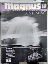 Magnus 12 Chord Organ Music book #42