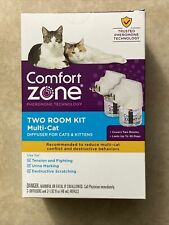 Comfort Zone Two Room Kit Multi-Cat  2 - Diffusers And 2-1.62 Oz. Refills