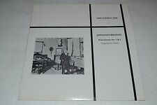 Johannes Brahms~Piano Sonatas Nos. 1 & 2~Eugene List~MHS 3818~FAST SHIPPING