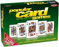 Popular Card Games by Tactic: Ages 7 plus 1-8 players family game