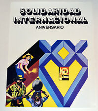 Political OSPAAAL Solidarity Original Cuban POSTER from 1991.TriContinental.