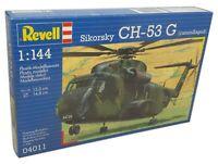 Revell 1/144 Sikorsky CH-53G Camouflaged Plastic Model Kit