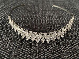 diamante tiaras wedding