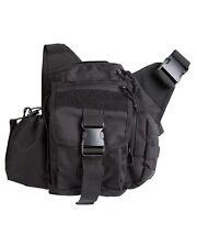 Army Combat Military Shoulder Travel Camera Day Bag Pack Case DLSR SLR Black New
