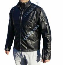 Classyak Oblivion Real Leather Moto Jacket Black Lambskin. Special Offer Xs-5xl