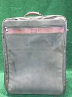 "GUC Hartmann Luggage Beige Ballistic Belting Large 24""x18""x12"" Rolling Suitcase"