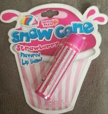 Snow Cone Strawberry flavored Lip balm~Rare Vintage Collectible