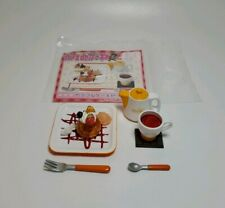 Megahouse RARE Miniature Cafe De Cake Afternoon Tea Set Dessert Re-ment #6 A9