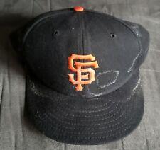 1996 San Francisco Giants Matt Williams #9 GAME USED WORN Hat Cap