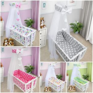 BABY NURSERY CANOPY DRAPE MOSQUITO NET ONLY TO FIT CRIB