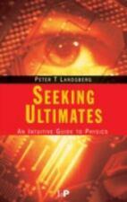 Seeking Ultimates. Taylor & Francis. 1999., , LANDSBERG, PETER T.., Very Good, 1