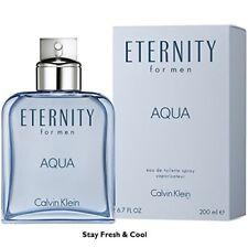 ETERNITY AQUA by Calvin Klein Perfume for Men's* Cologne 6.7oz EDT New in Box*