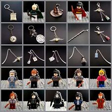 HARRY POTTER key rings ,charms bookmarks.Minifigure keyring Golden snitch,Tardis