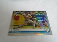 2019 TOPPS CHROME BRANDON LOWE #151 RC REFRACTOR TAMPA BAY RAYS NICE LOOK!