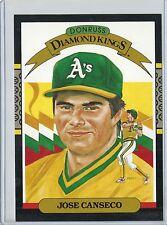 Jose Canseco 1987 Donruss 5 X 7 Oakland A's Diamond King Baseball Card #6