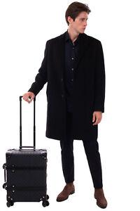 RR €2400 GUCCI x GLOBE-TROTTER Spinner Suitcase Cabin Size GG Logo Push Key Lock