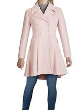 Guess Double Breasted Skitted Pale Pink Peacoat NWT