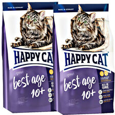 2 x 4 kg Happy Cat Senior Best Age 10+