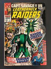 Captain Savage and His Leatherneck Raiders #2 (Marvel, 1968) Fine