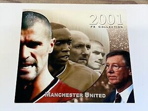 Manchester United 2001 FX Collection XL card number 100 Soccer invest