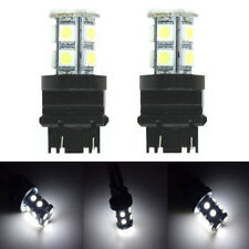 3157 T25 SMD 5050 LED White Amber Tail Turn Signal Car Light Bulb Lamp 2PC New