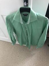 mens tommy hilfiger single cuff shirt size 15/38