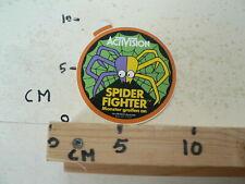 STICKER,DECAL ACTIVISION SPIDER FIGHTER MONSTER GREIFEN AN ARIOLA VERTRIEB SPIN