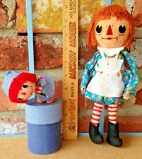 Vintage Japan Pixie Style Ornaments For Your Raggedy Ann Themed Christmas Tree!