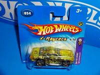Hot Wheels 2005 First Editions X-Raycers #54 '69 Chevelle Yellow On Short Card